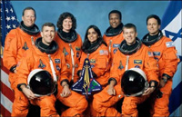 Flight crew - Columbia Space Shuttle Mission STS-107
